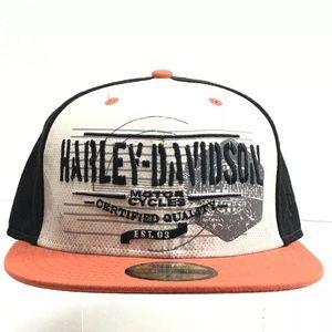 NEW Harley-Davidson Ball Cap New Era 59Fifty